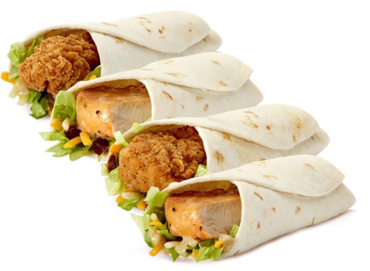 mcdonalds snack wraps